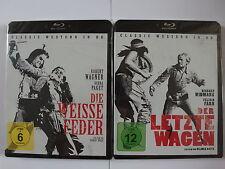 Western Klassiker Sammlung Paket - Der letzte Wagen + Die weiße Feder - Widmark