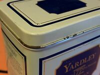 Vintage Tin Can-Yardley of London-Fragrance Storage-Collectors Item-Crafts-Games