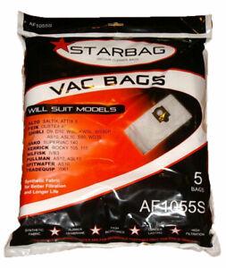 AF1055S 25xSynthetic Vacuum Cleaner Bags Makita 446L,447L KERRICK ROKY 105 115