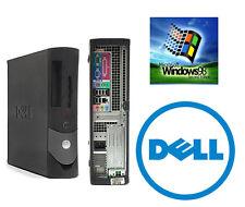 Dell OptiPlex GX270 2.8GHZ 80GB Windows 98SE/DOS Gaming Desktop Industrial PC