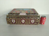 Vintage German Tin Box biscuit from E. OTTO SCHMIDT 1997 collection rare