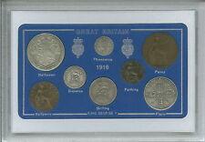 1916 GB Great British Vintage Antico MEDAGLIA Set (101st Compleanno Regalo Nascita ANNO)