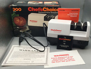 CHEFS CHOICE PROFESSIONAL SHARPENING STATION 300 MODEL EXCELLENT CONDITION(M338)