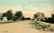 Georgia, GA, Fitzgerald, Central Avenue looking East 1910's Postcard