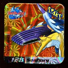 STAKS STAKS AIMANT MAGNET BEYBLADE N° 128 SEABORG HOLO