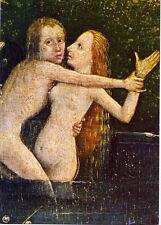 Bosch (1453-1516) •The Garden of Delights• (detail) Dutch Renaissance•POSTCARD