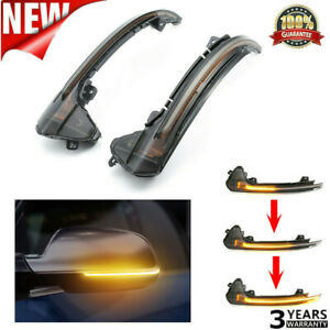 1pair Dynamic LED Turn Signal Light Mirror Indicator For Audi A6 C7 RS6 S6 4G