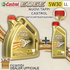 5 L LITRI OLIO MOTORE CASTROL EDGE 5W30 FST LONGLIFE VW 504.00 MB 229.31