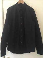 "Helmut Lang 90's Mens Black Shirt 41""/16""collar"