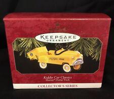 Hallmark Kiddie Car Classics Murray Dump Truck - #4 in Series - 1997