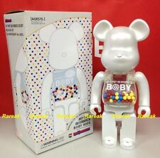 Medicom Be@rbrick My First Baby 400% 15th Anni. Pearl White B@by MCT bearbrick