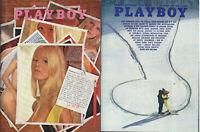 PLAYBOY 1969 Lot of 2-June & November-Playmate of Year,Jesse Jackson, Cinema Sex