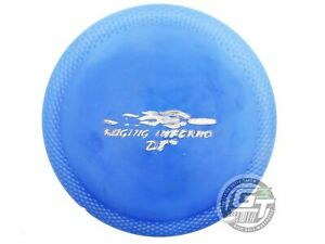 USED Quest AT SRP Raging Inferno DT 163g Blue Silver Stamp Driver Golf Disc