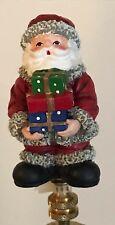 Santa with Gifts Lamp Shade Finial