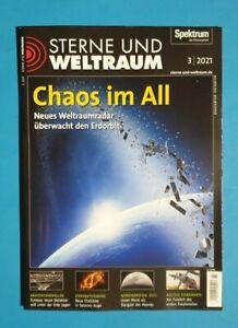 Spektrum Sterne und Weltraum 3/2021 Chaos im All    NEU + UNGELESEN