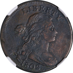 1802 Large Cent NGC XF Details S.239 R.3 Decent Eye Appeal Nice Strike