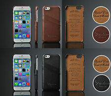 """Luxury Genuine Lychee Leather Card Slot Protective shell case for Iphone 6 4.7"""""""