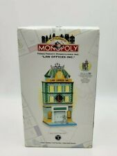 "Dept 56 CityLights Monopoly ""Law Offices Inc."" Pennsylvania Ave Lighted Building"