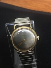 vintage caravelle mens watch1950'swinding Swiss Made,Of Color White