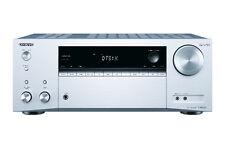 Onkyo Tx-nr555 7.2 Channel Network AV Receiver Silver Txnr555 Dolby Atmos DTS X
