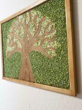 Lebensbaum, Malerei, Wohnwand Dekor, Mischtechnik, Originalkunst, Luxusdekor