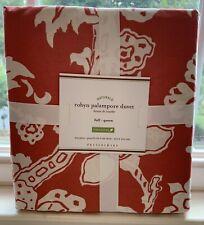 POTTERY BARN Robyn Palampore Full/Queen Duvet & 3 Standard Shams- NEW