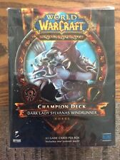World Of Warcraft TCG Champion Deck Dark Lady Sylvanas Windrunner Horde