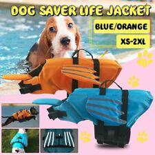 Breathable Reflective Life Jacket For Pets Polyester Comfort Aquatic Safety Vest