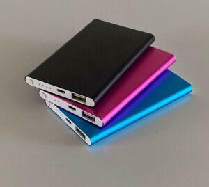Power Bank Slim 5000mAh Small & Light Portable Charger USB - Mobile Phones 2021