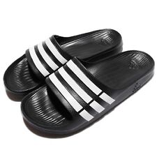 e4cdebe50 adidas Adilette Duramo Slide Bath Shoes Flip Flops to Size 55 UK 9 G15890  Black -
