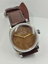 1950's Vintage Pam 6154 full hand-painting dial / hand set aged assembled !