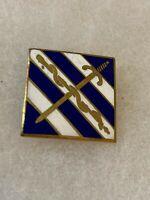 Authentic US Army 3rd Medical Battalion Unit DI DUI Crest Insignia D22