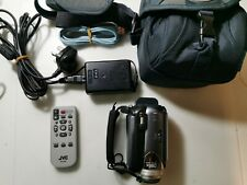 JVC  30 GB Camcorder - Grey (GZ-MG36E/EK) Everio plus case AND ACCESSORIES