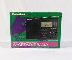 Radioshack DX-375 Short Wave Radio Pre-Owned Tested/Working