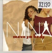 (CN128) Nina Sky, Move Ya Body - 2004 DJ CD