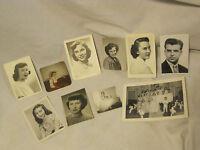 10 x vintage photographs photograph photo lot photos pretty woman wedding 1950 +