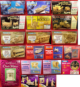 Match Stick Modelling Kits - over 25 designs to choose from
