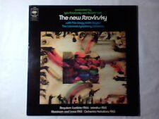 IGOR STRAVINSKY ROBERT CRAFT The new Stravinsky lp UK