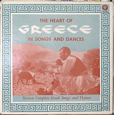 HEART OF GREECE IN SONGS AND DANCES-NM LP