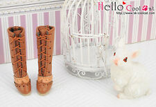 ☆╮Cool Cat╭☆【07-04】Blythe Pullip  High Heel Boots.Brown