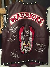 The Warriors Signed Autographed Vest 6 Warriors James Remar Ajax Swan Cochise