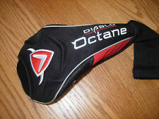 NEW CALLAWAY DIABLO OCTANE TOUR DRIVER HEAD COVER RED BLACK / FREE SHIPPING