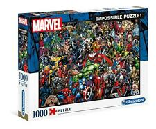 Clementoni 1000 Piece Jigsaw Puzzle Impossible Marvel