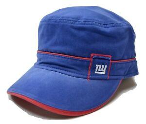New York Giants Reebok Women's NFL Football Military Style Adjustable Cap Hat