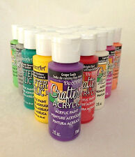 2oz New Decoart Crafters Acrylic Paint All Colours Art Craft Waterbased Artist