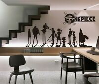 One Piece Anime Wandtattoo Wandaufkleber Wandsticker Wanddekos Wall sticker