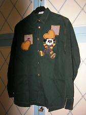 2 camicie mod. EMMANUEL SCHVILI  cotone tg L/46  verde  e blu-vintage eccellente