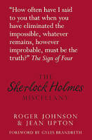 The Sherlock Holmes Miscellany, Upton, Jean,Johnson, Roger, Very Good Book