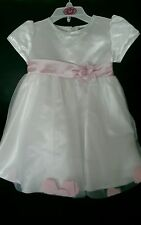River Oak christening wedding birthday or party dress 12-18 months baby girl