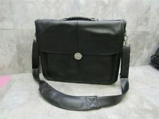 Genuine DELL DELUXE 17' x 13' x 4' Laptop Padded Leather Carrying Shoulder Bag